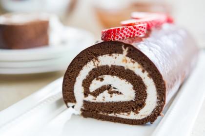 رولت شکلاتی با همزن مولینکس