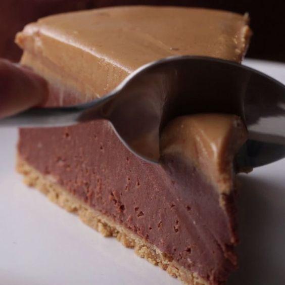 چیز کیک بادام زمینی  با غذاساز مولینکس