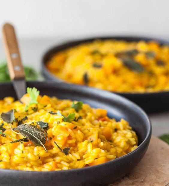 برنج کدو حلوایی با چرخ گوشت مولینکس