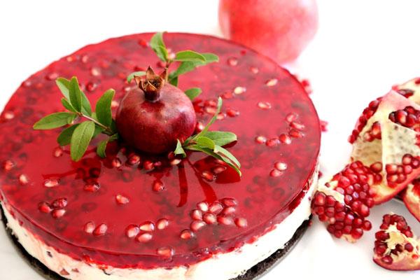 چیز کیک ژله ای با غذاساز مولینکس