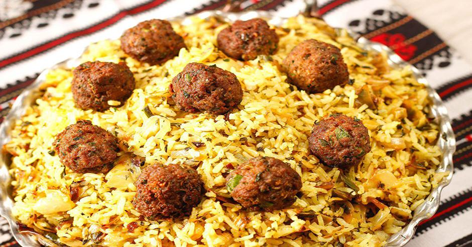 کلم پلو شیرازی با چرخ گوشت مولینکس