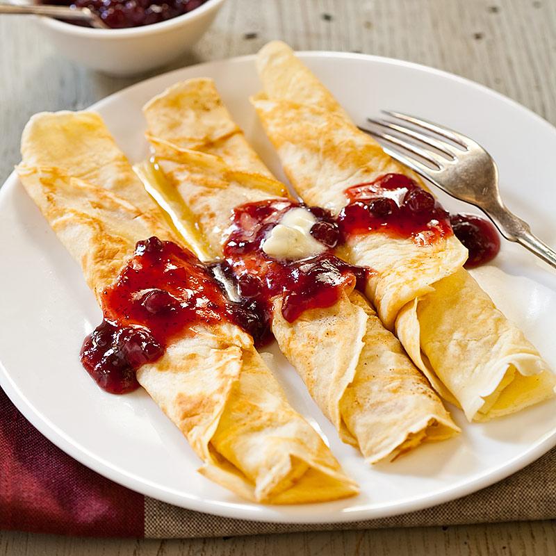 پنکیک سوئدی صبحانه با همزن مولینکس