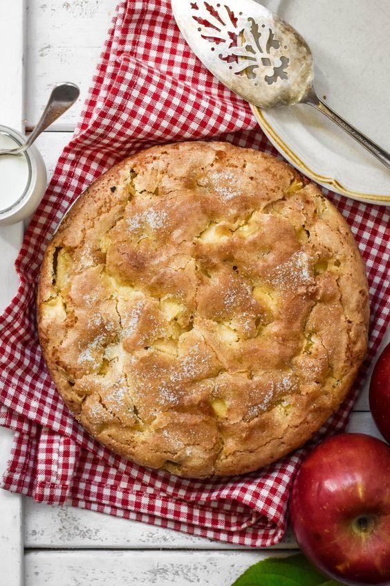 کیک سیب دارچین با  همزن مولینکس