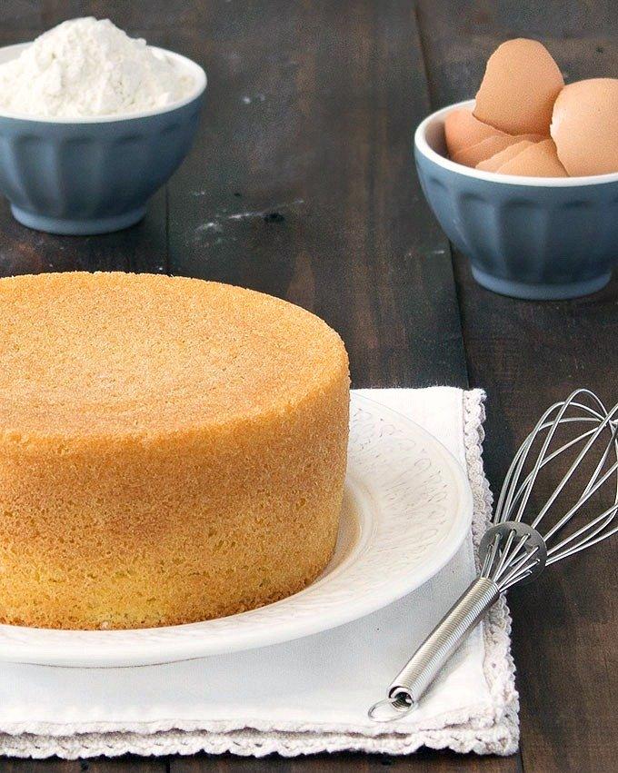 کیک اسفنجی با مخلوط کن مولینکس