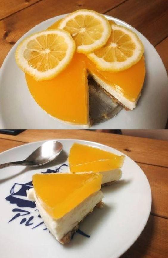 چیزکیک پرتقال با مخلوط کن مولینکس