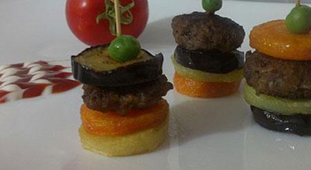 کباب ملکه با غذاساز مولینکس