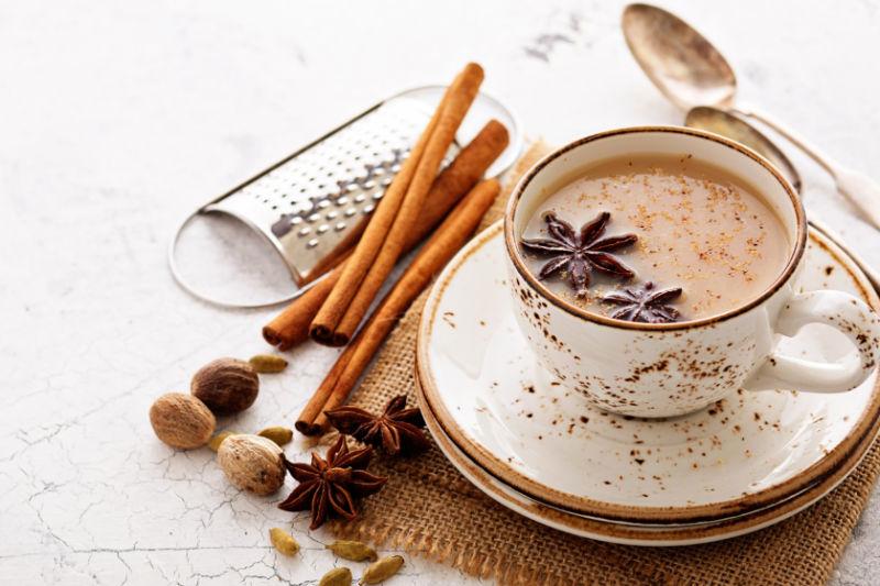 چای ماسالا با مخلوط کن مولینکس