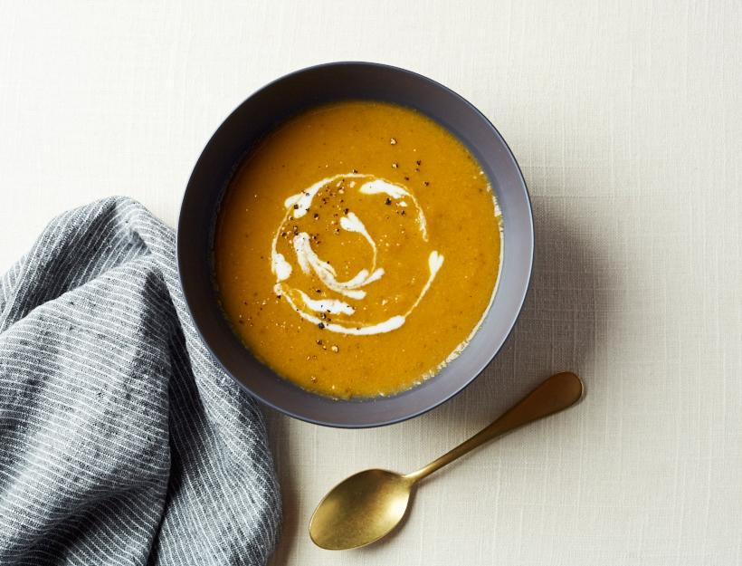 سوپ هویج اسپایسی با مولینکس