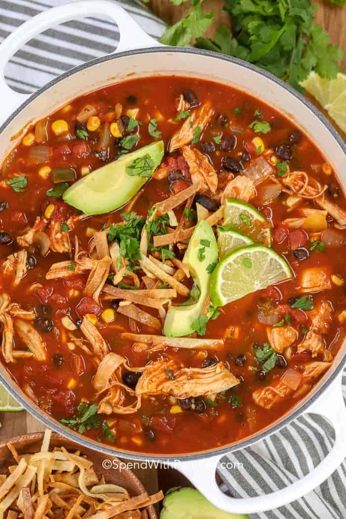 سوپ مکزیکی با مولینکس