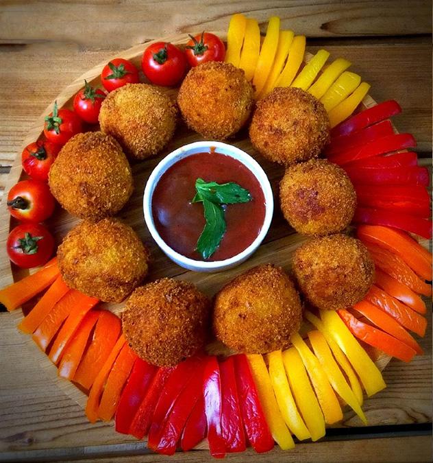 توپک مرغ و سیب زمینی با چرخ گوشت مولینکس