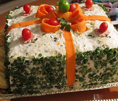 کیک مرغ رژیمی با خردکن مولینکس