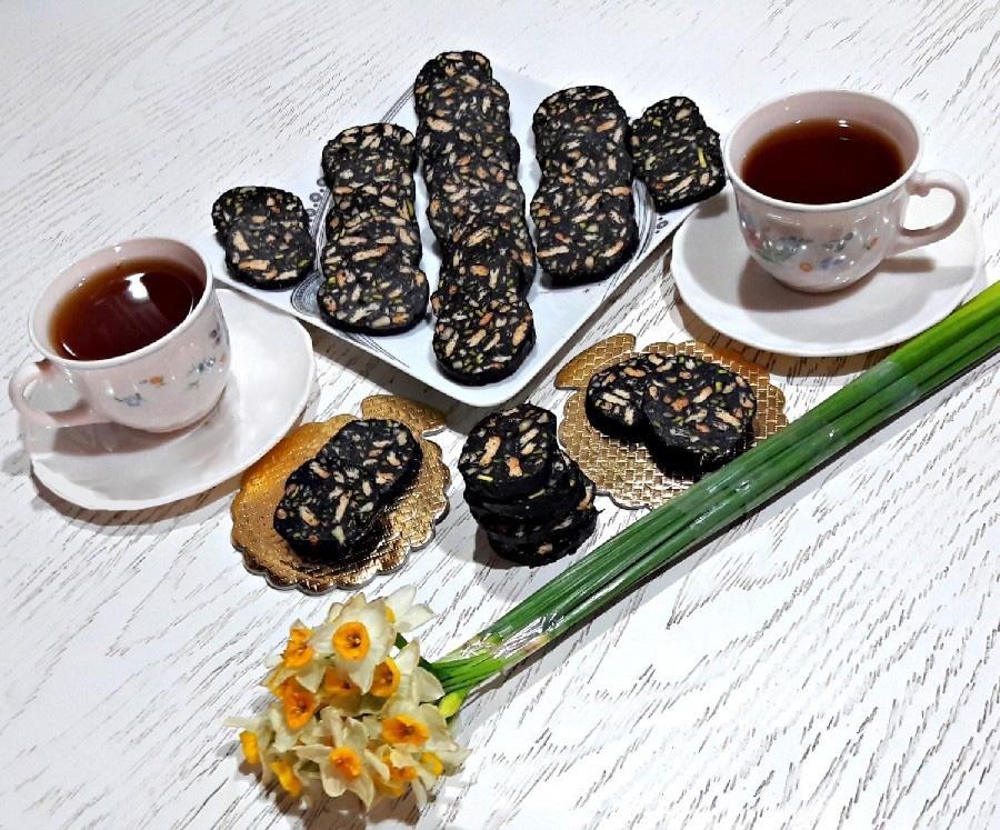 شیرینی شکلاتی آلمانی با همزن برقی مولینکس