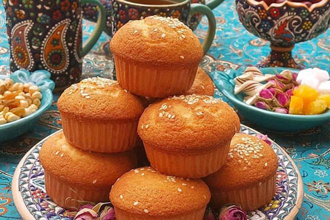 کیک یزدی خانگی با همزن کاسه دارمولینکس
