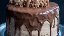 کیک شکلاتی نوتلا بهترین کیک برای تولد
