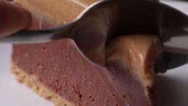 چیز کیک بادام زمینی  با غذاساز مولینکس: