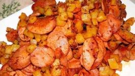 سوسیس بندری با غذاساز مولینکس