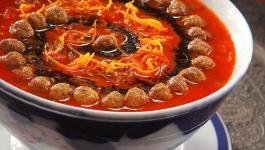 آش گوجه فرنگی با چرخ گوشت مولینکس