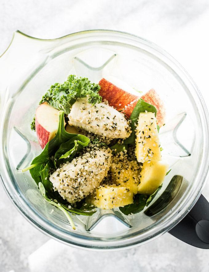 اسموتی سبزیجات با مخلوط کن مولینکس