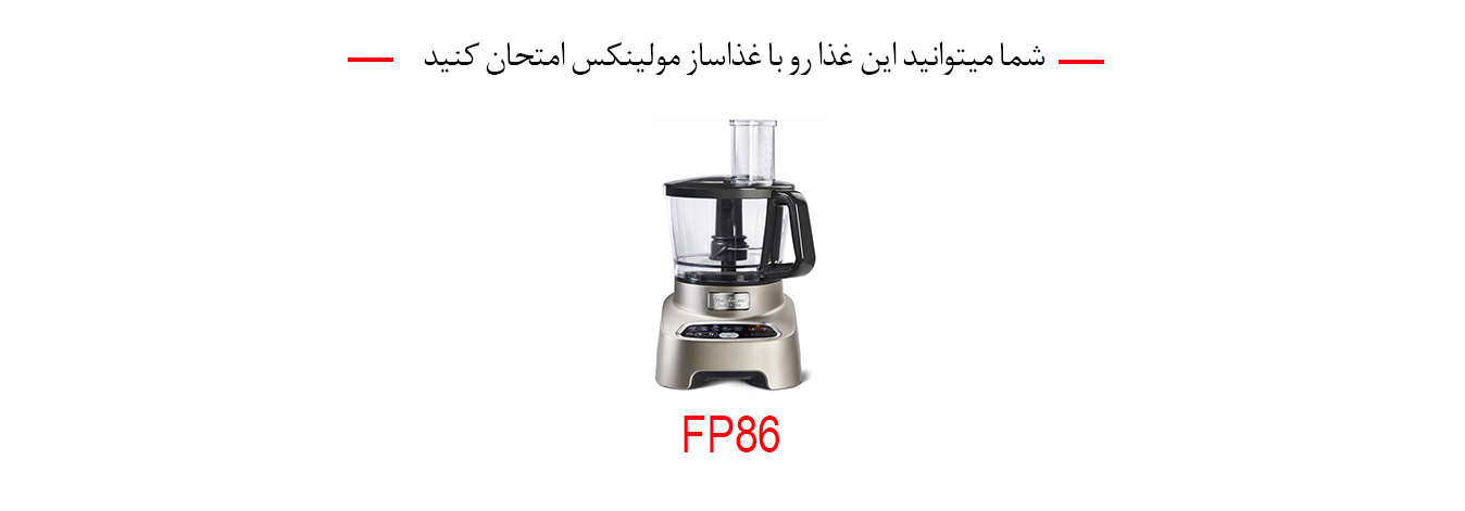 غذاساز fp86 مولینکس
